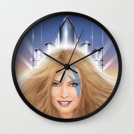 Xanadu homage cover for 10th Muse - Olivia Newton John! Wall Clock