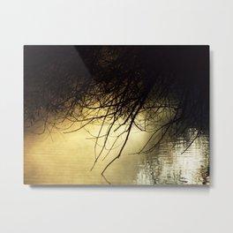 TANGLED SUNRISE Metal Print