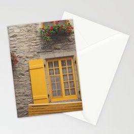 Yellow + Red Stationery Cards