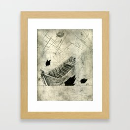 Charon's Ferry Framed Art Print