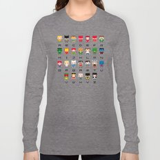 Superhero Alphabet Long Sleeve T-shirt