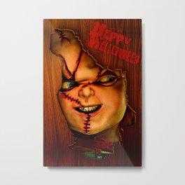 Happy Halloween trick or treat Metal Print