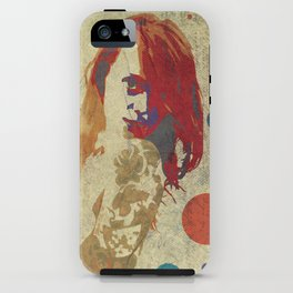 Drawn Beauty iPhone Case