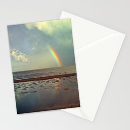 Rainbow Over Sea Stationery Cards