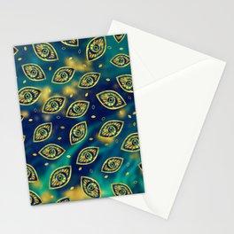 Nazar Eye Amulet pattern #2 Stationery Cards