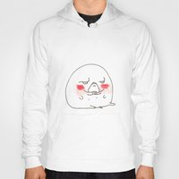 manatee Hoodies featuring Disapproval Manatee by withapencilinhand