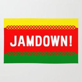 Jamaican design 3 - Jamdown Rug