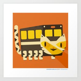#30daysofcats 23/30 Art Print