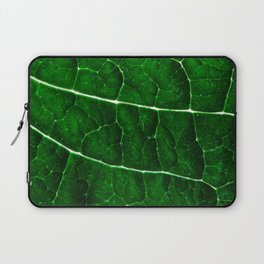 LEAF STRUCTURE GREENERY Laptop Sleeve