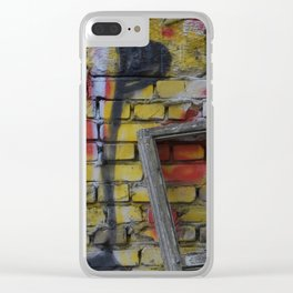 color decay Clear iPhone Case