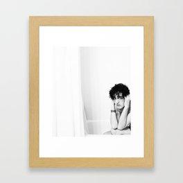 Mr. Innocent Framed Art Print