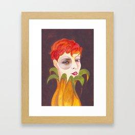 RETRATO 120314 Framed Art Print