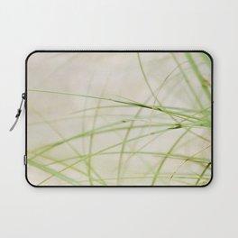 Green Wisps Laptop Sleeve
