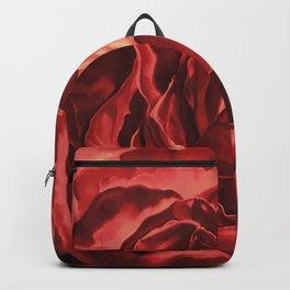 Bleeding Heart Rose, pastel drawing Backpack