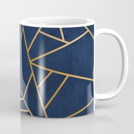 Art Deco Blue Coffee Mug