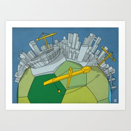 Brazilization Art Print