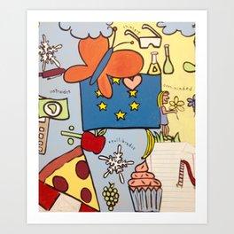 All Children are Artists II Art Print