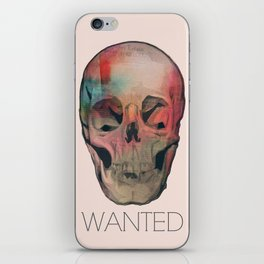 Wanted iPhone Skin