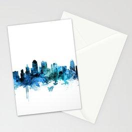 Kansas City Missouri Skyline Stationery Cards