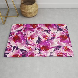 Orchid Chaos Rug