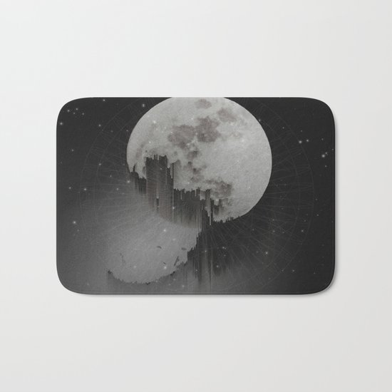 Sacred Moon Bath Mat