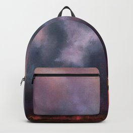 Passing Downpour Acrylic Painting Backpack