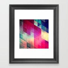 byy byy july Framed Art Print