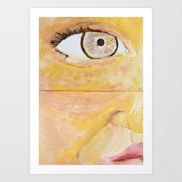 Unorthodox Radiance Art Print