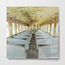 Train Wagon Metal Print