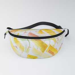 My Soul is she is an abstract paints in Arabic calligraphy with contemporary style can fit your home Fanny Pack