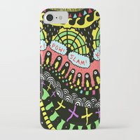 psycho iPhone & iPod Cases featuring Psycho by Saif Chowdhury