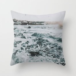 ocean xii / bondi beach, australia Throw Pillow
