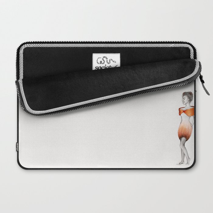 She'll eat your Heart out Laptop Sleeve