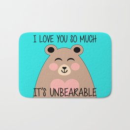 It's Unbearable Bath Mat