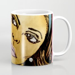 Popping Art Wait Coffee Mug