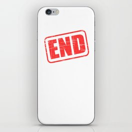 """Fight against rape with this tangy outfit! """"End Rape Culture"""" tee for you and your friends too!  iPhone Skin"""