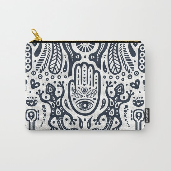Folklore Pattern 2 Carry-All Pouch