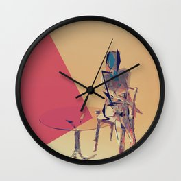 Lonesome Wall Clock