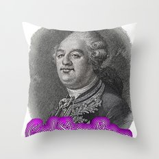 Cool Story King Louis XVI Throw Pillow