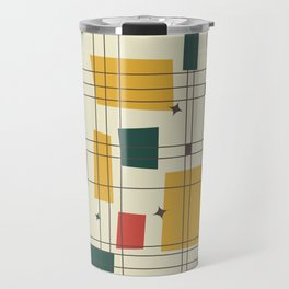 Mid-Century Modern (gold) Travel Mug