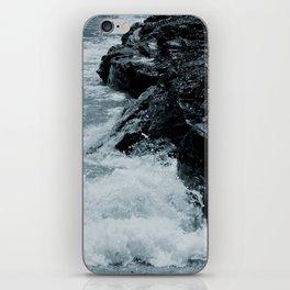 Crashing Waves On Rocks iPhone Skin
