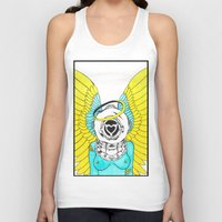 halo Tank Tops featuring Halo by Paul Trujillo