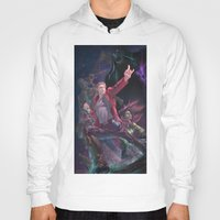 starlord Hoodies featuring Guardians Of The Galaxy by Arashi.C