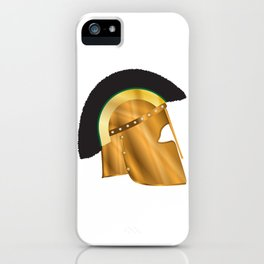 Roman Gladiator Helmet iPhone Case