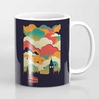 london Mugs featuring London by The Child