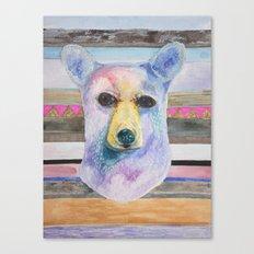 Bear Bust Canvas Print
