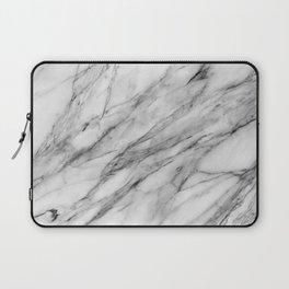 Carrara Marble Laptop Sleeve