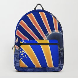 City Of The Golden Road Backpack