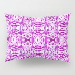 Summer Vibes Tie Dye in Magenta Pillow Sham