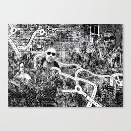Attack of the Killer Roundabouts Canvas Print